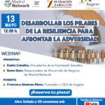Madrid Network Webinar: Desarrollar los 6 Pilares de la Resiliencia